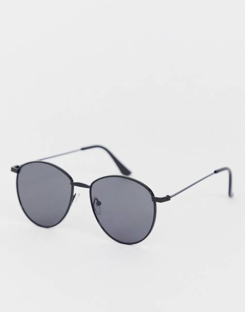 AJ Morgan round sunglasses in black