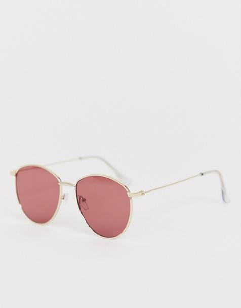 AJ Morgan round sunglasses in gold