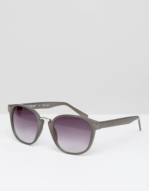 AJ Morgan round sunglasses in gray