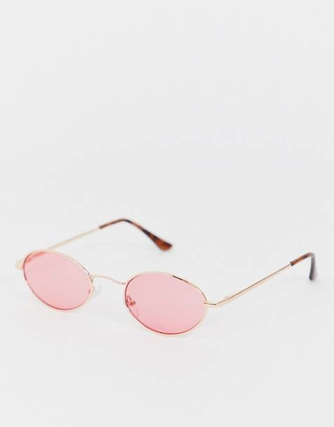 AJ Morgan round sunglasses in rose gold