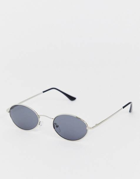 AJ Morgan round sunglasses in silver