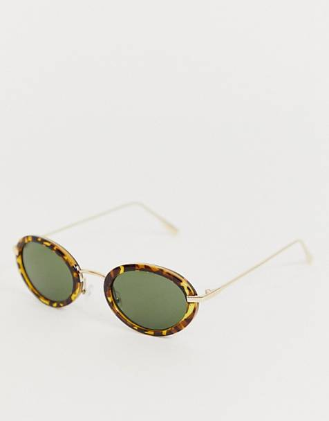 AJ Morgan round sunglasses in tort