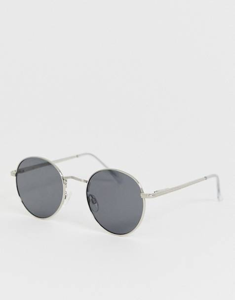 AJ Morgan round sunglasses silver