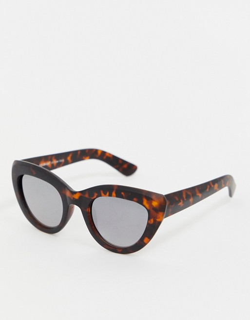 AJ Morgan tort cat eye sunglasses