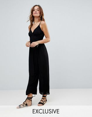 Akasa Wide Leg Beach Jumpsuit