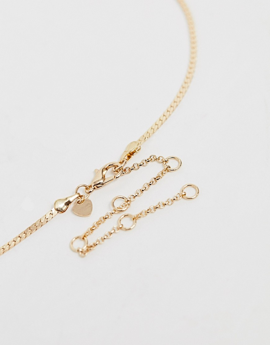 Aldo Ceramma Snake Multi Layered Necklace In Gold by Aldo
