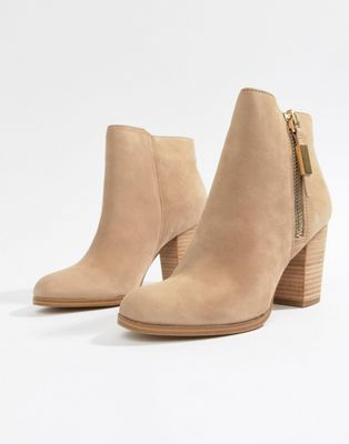 Aldo Leather Heeled Ankle Boot