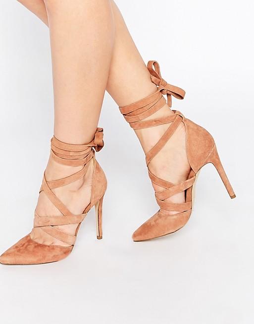 classico prezzo basso qualità ALDO - Unelillian - Scarpe in camoscio color cammello con ...