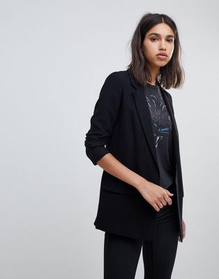 AllSaints aleida tailored blazer