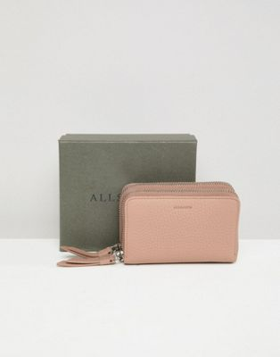 AllSaints Fetch small zip purse