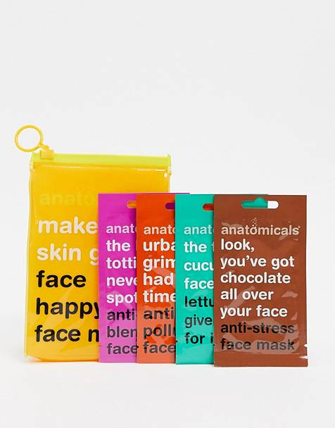Anatomicals - Exclusivité ASOS - Make Your Skin Grin Face Happy - Masques visage