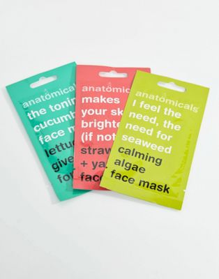 Anatomicals Face Mask Envelope x 3
