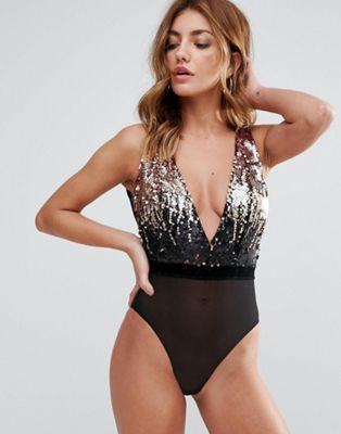 Ann Summers Manhattan Sleeveless Sequin Body