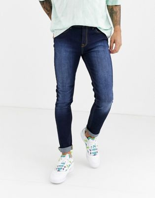 Another Infleunce skinny NOA jeans in indigo