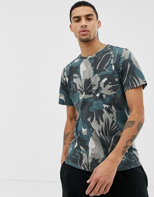 Image 1 of Another Influence Dark Camo T-Shirt