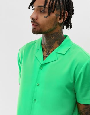 Image 1 of Another Influence neon revere shirt