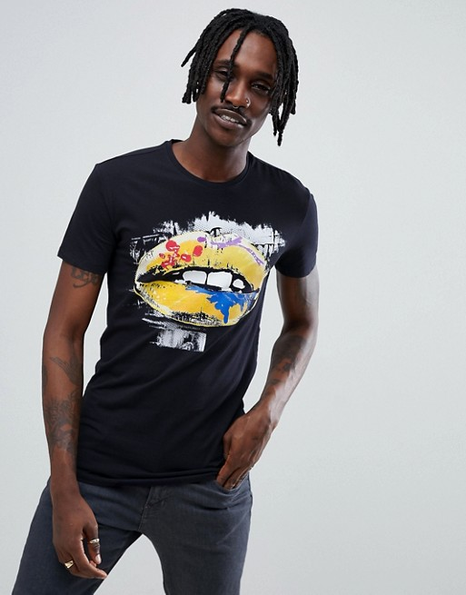 Antony Morato Sport Crew Neck Navy T-Shirt