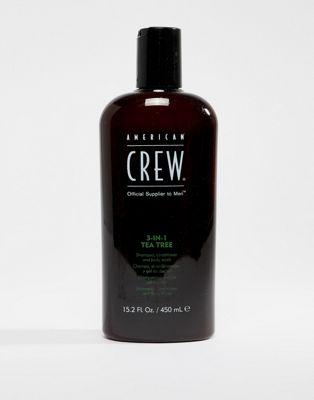 Árbol de té clásico 3 en 1 de 450 ml de American Crew