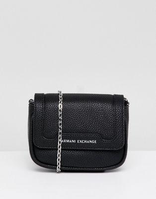 Armani Exchange - Crossbody bag met ketting camera