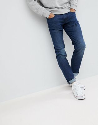 Armani Exchange J13 Slim Fit Mid Wash Stretch Jeans