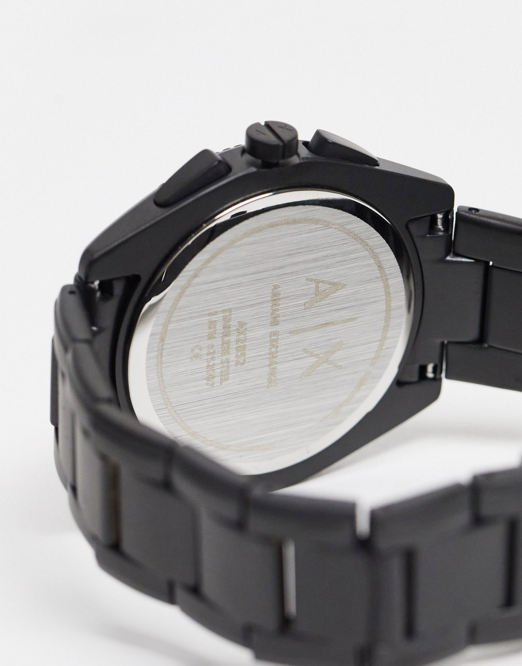 Armani Exchange mens giacomo bracelet watch in black AX2852 -  Price Checker