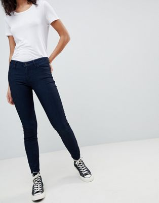 Armani Exchange Super Skinny Low Rise Jeans