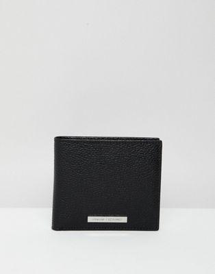 Armani Exchange Svart plånbok
