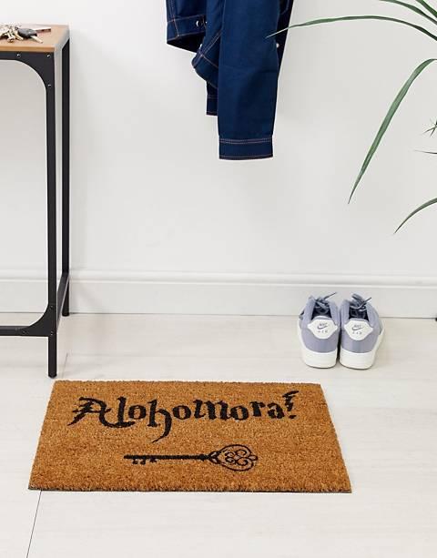 Artsy alohamora doormat