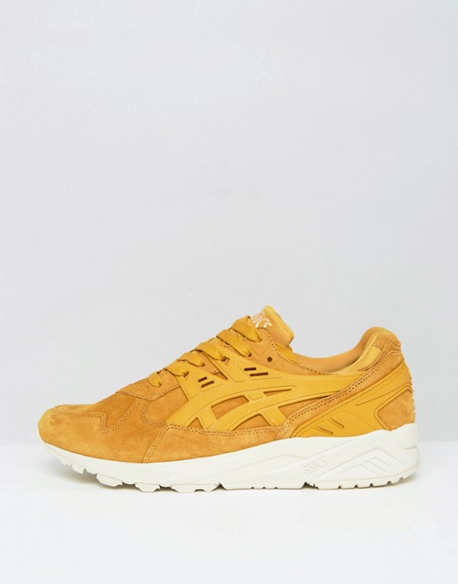 asics yellow trainers
