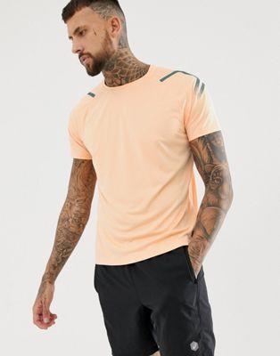 Bild 1 von Asics – Icon – Kurzärmliges, aprikosenfarbiges T-Shirt