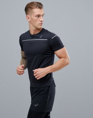 Asics Running Lite-Show T-Shirt In Black