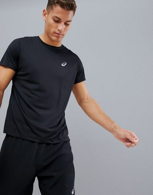 Asics Running T-Shirt In Black
