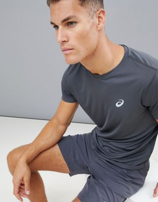 Asics Running T-Shirt In Gray