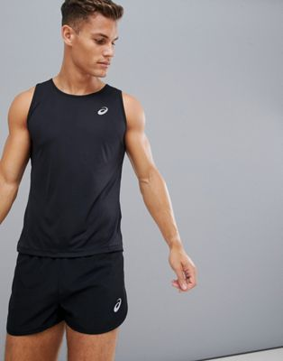 Asics Running Tank In Black