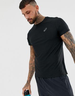 Bild 1 av Asics – Svart t-shirt med kort ärm