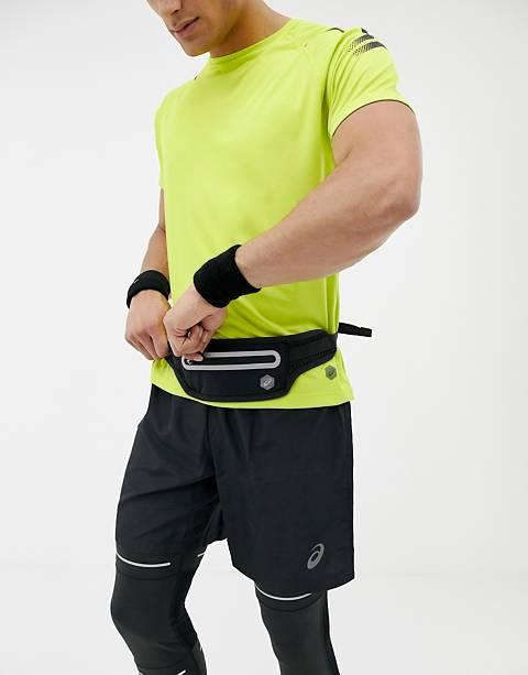 Asics waist pouch in black