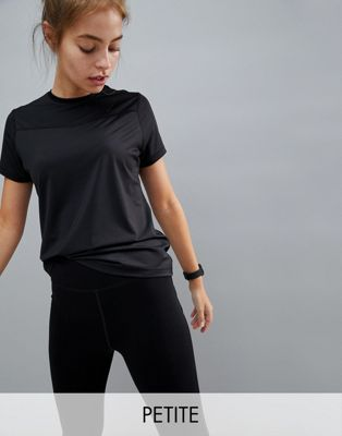 Image 1 of ASOS 4505 Petite training t-shirt in loose fit