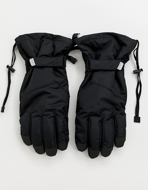 Image 1 of ASOS 4505 ski gloves in black