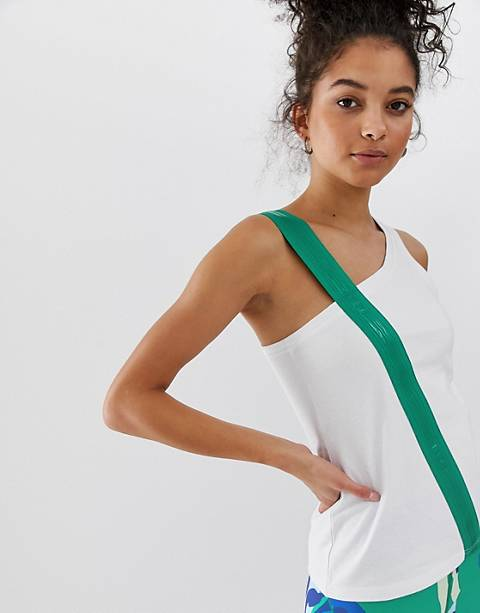 ASOS 4505 tank with elastic strap detail