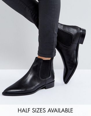 ASOS AUTOMATIC Leather Chelsea Boots