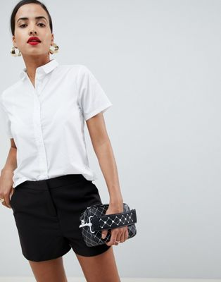 ASOS Boxy Short Sleeve Shirt