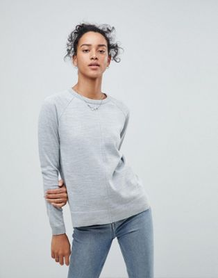 ASOS Boyfriend Jumper With Crew Neck