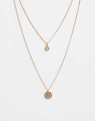 ASOS Chakra Multirow Necklace