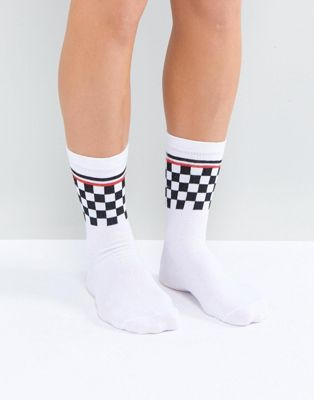 ASOS Checkerboard Socks