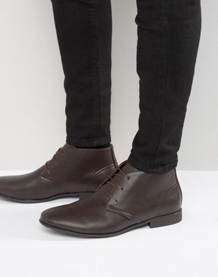 ASOS Chukka Boots in Brown