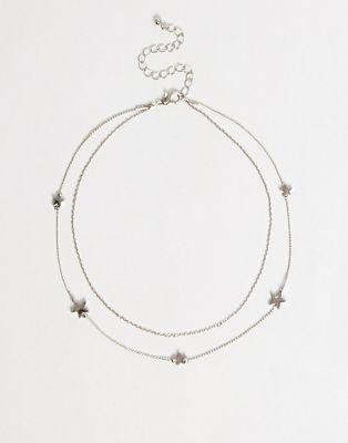 ASOS - Collier ras du cou multirangs orné d'étoiles