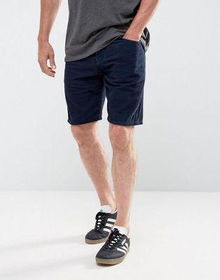 Bild 1 von ASOS – Cord-Shorts in hellem Marineblau
