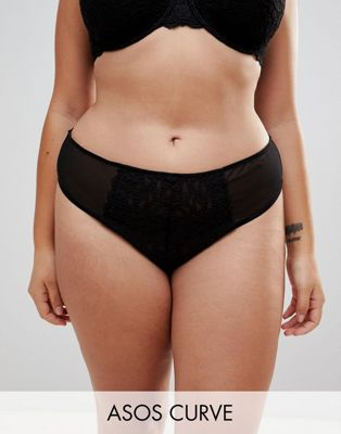 ASOS CURVE Jennifer Lace Thong