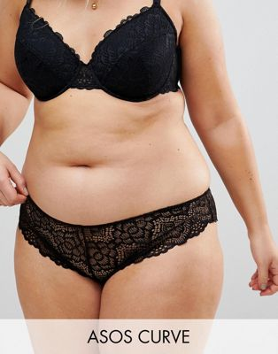 ASOS CURVE Rita Lace Mix & Match Brazilian Pant