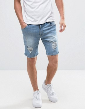 Men's Denim Shorts | Men's Denim Chino Shorts | ASOS